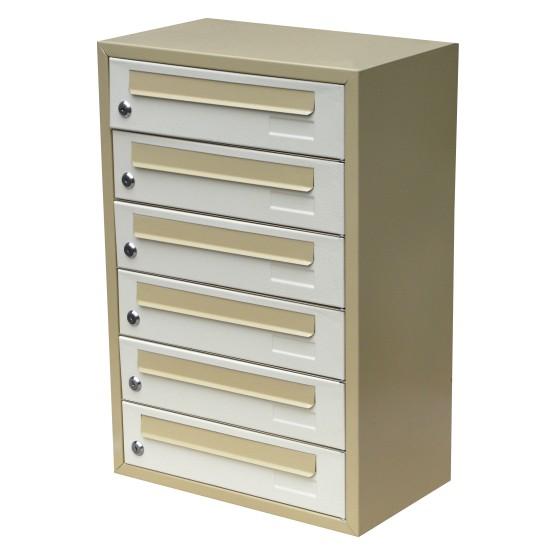 Mailbox multifamily YP-06K