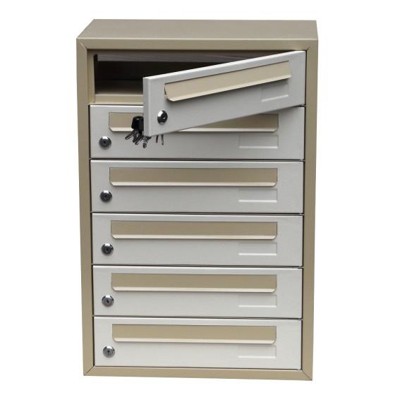 Ящик почтовый многоквартирный ЯП-06К