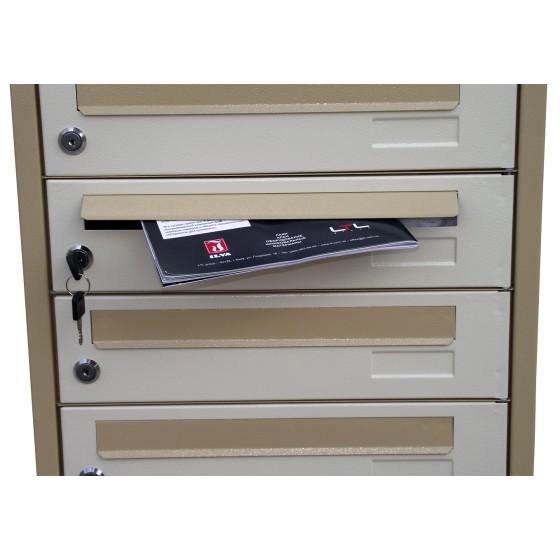 Ящик почтовый многоквартирный ЯП-08К