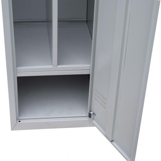 Шкафы для одежды с перегородкой ШОМ-П 2/80