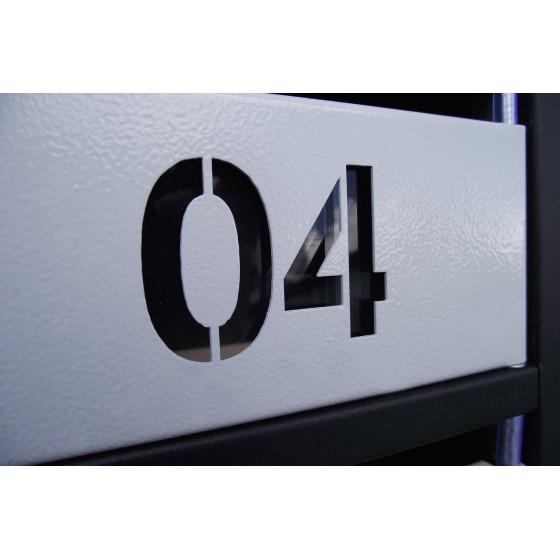 Ящик почтовый ЯП-Сн (с номером)