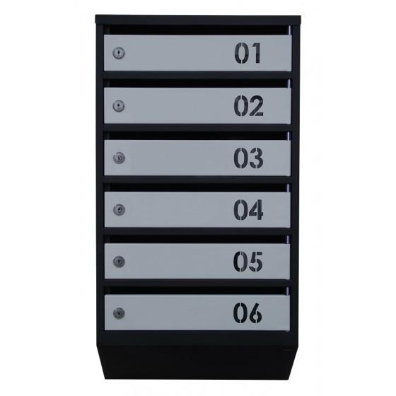 Ящик поштовий ЯП-Сп (з номером)