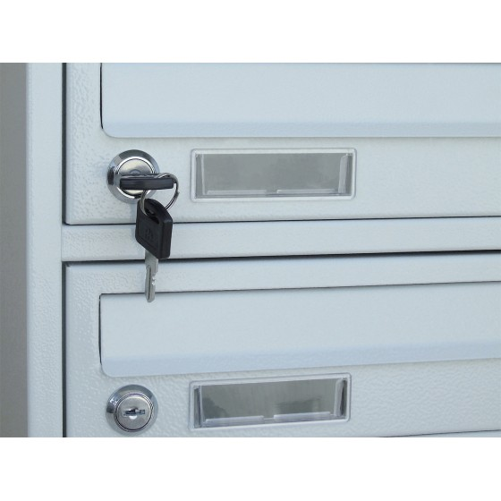 Sectional mailbox YP-E - lock with two keys