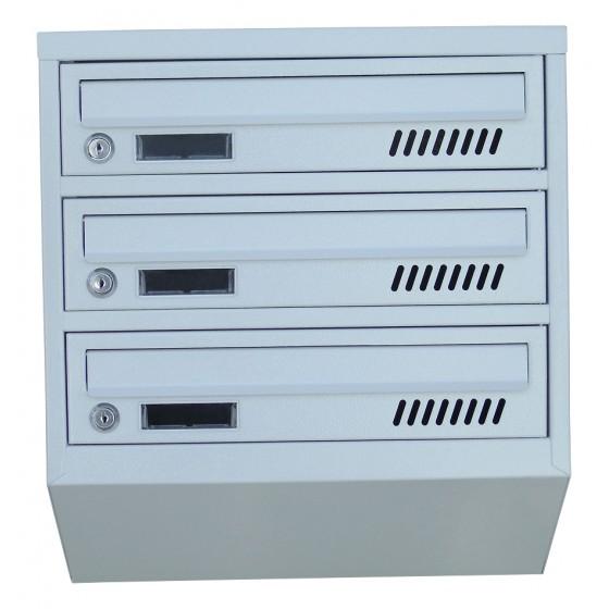 Ящик поштовий 3 секційний від виробника (ЯП-03Е)