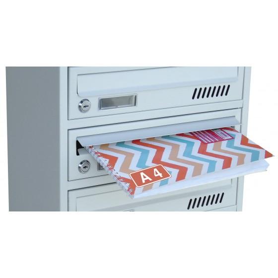 Ящик почтовый 3 секционный от производителя (ЯП-03Е)