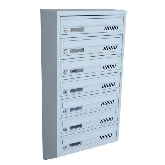 Ящик почтовый 7 секционный от производителя (ЯП-07Е)