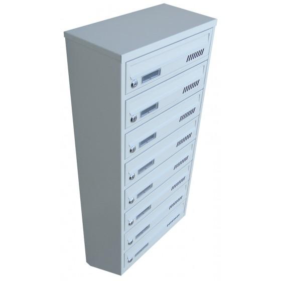 Ящик поштовий 8 секційний від виробника (ЯП-08Е)