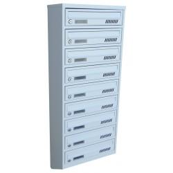 Ящик почтовый 10 секционный от производителя (ЯП-10Е)