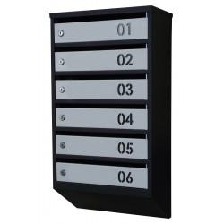 Ящики поштові багатоквартирні (ЯП-Мн)