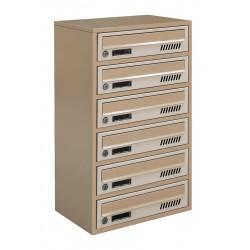 Multi mailboxes E2-A beige
