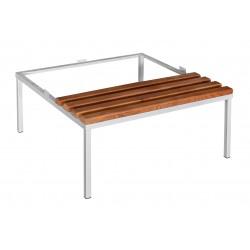 Скамья с подставкой для шкафа металлического (ЛГ-6-300)