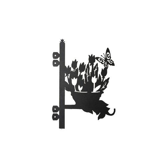 Кронштейн для квітів КЦ-5 (327х255 мм)