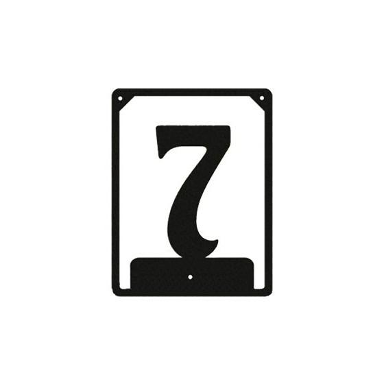 Numbered ND-7 (110х85 mm)