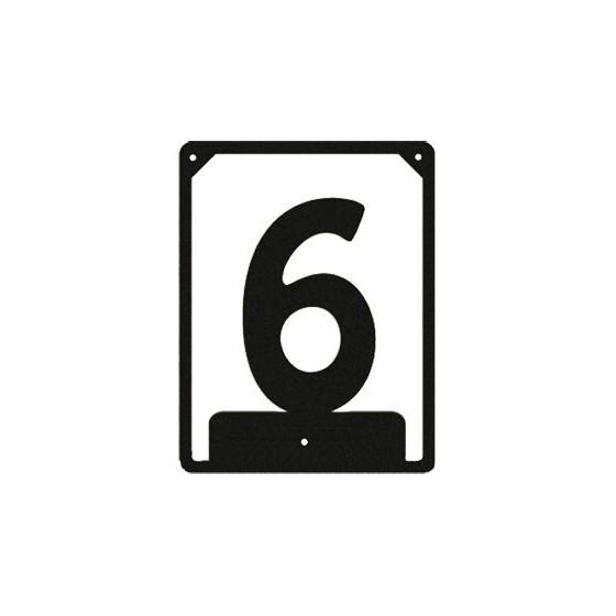 Numbered ND-6 (110х85 mm)