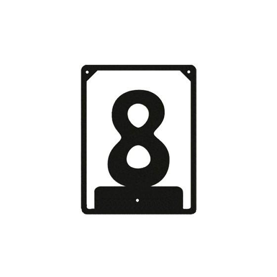 Numbered ND-8 (110х85 mm)