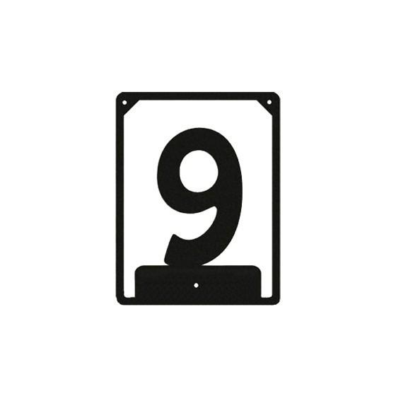 Numbered ND-9 (110х85 mm)