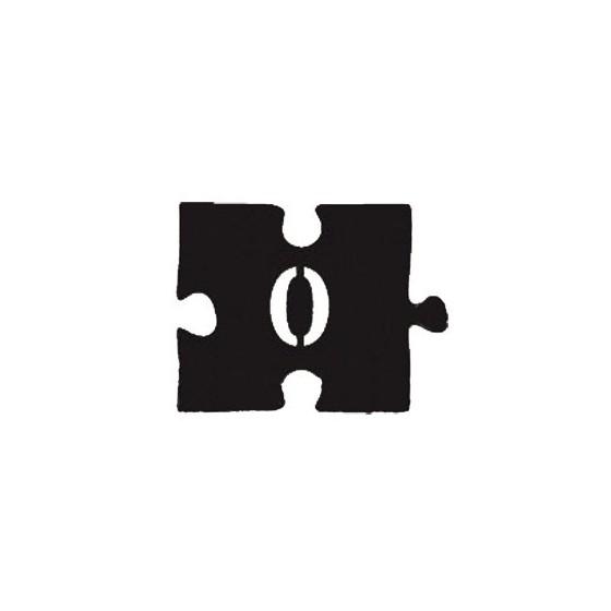 Номерок-пазл НДП-0 (60х45 мм)