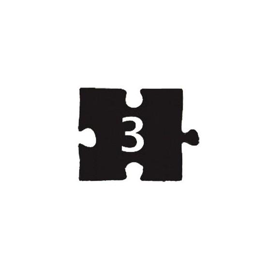 Номерок-пазл НДП-3 (60х45 мм)