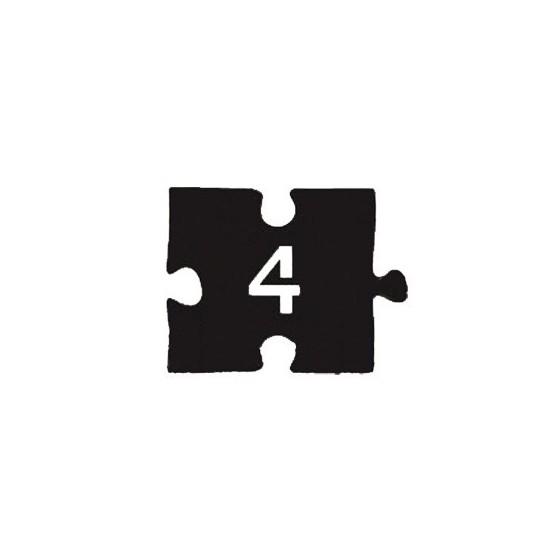 Номерок-пазл НДП-4 (60х45 мм)