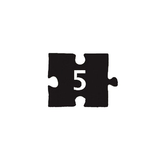 Checklist puzzle NDP-5 (60х45 mm)