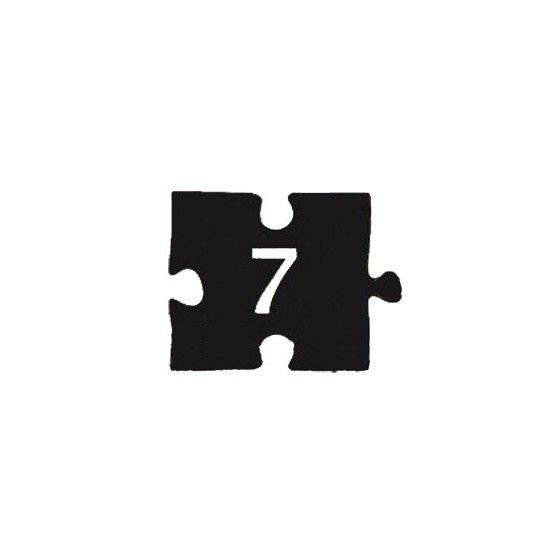 Checklist puzzle NDP-7 (60х45 mm)