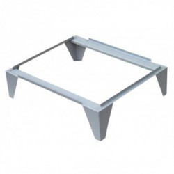 Supports for metal cabinets