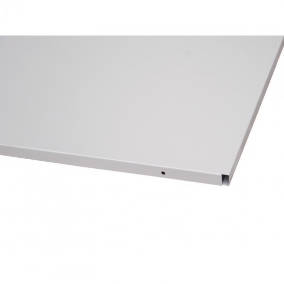 Shelf for metal cabinets