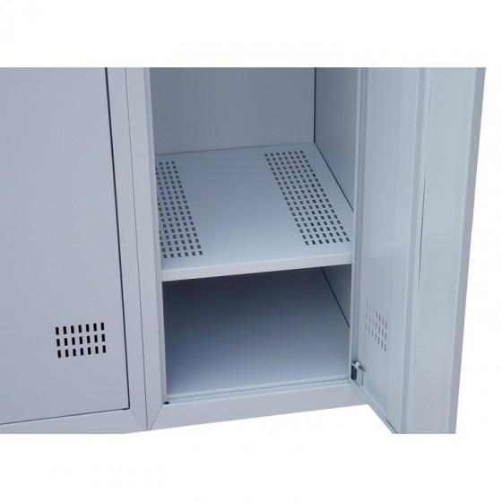 Полка перфорированная для шкафов металлических