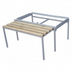 Выдвижная скамейка для одежных шкафов