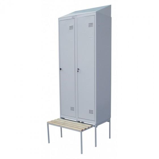 Висувна лавка для одежних шаф