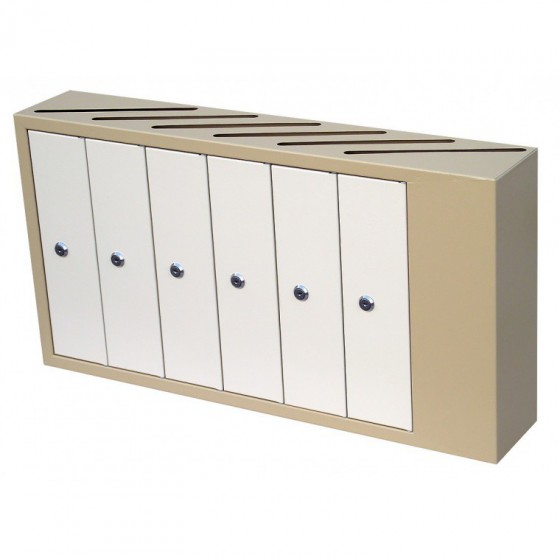 Щілинні багатоквартирні поштові скриньки (ЯП-А) - вигляд спереду