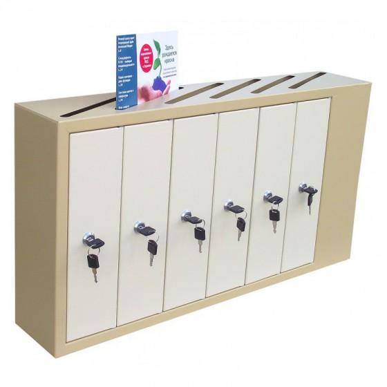 Щілинні багатоквартирні поштові скриньки (ЯП-А) - приклад вкладення кореспонденції