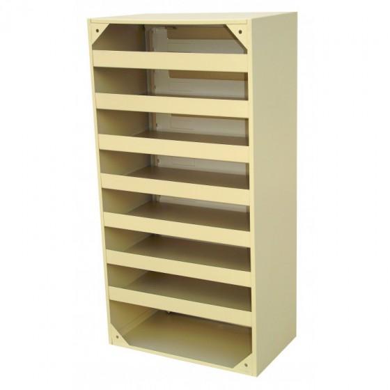 Вертикальні щілинні багатосекційні поштові скриньки з клапаном (ЯП-К)