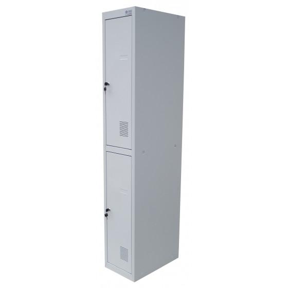 Шафи для роздягалень металеві дворівневі (ШОМ-2)