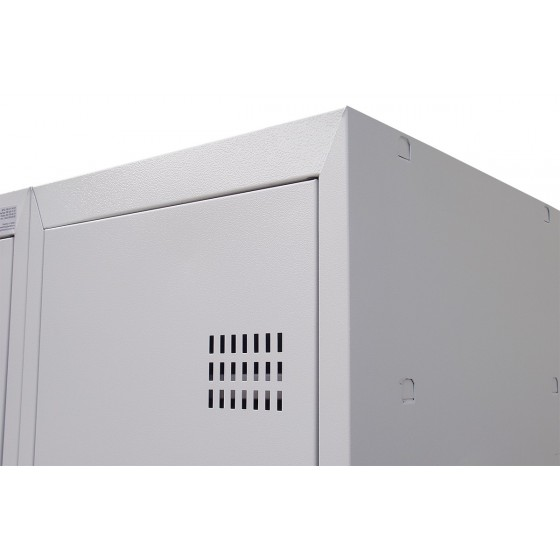 Шкафы для раздевалок металлические одноуровневые (ШОМ-1)