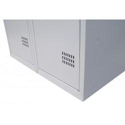 Шкаф металлический для одежды (ШОМ 1-40)
