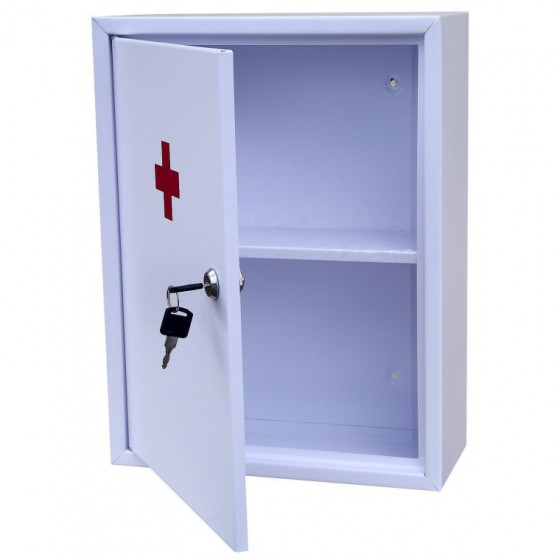 First aid kit for medicines with one shelf AP-01