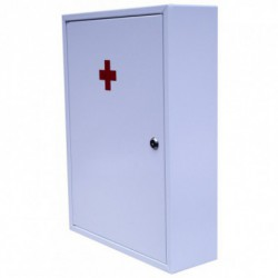 First aid kit for medicines with two AP-02 shelves