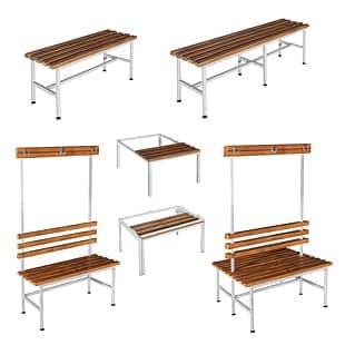 Benches for locker wardrobe